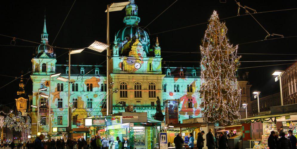 Adventkalender am Grazer Rathaus