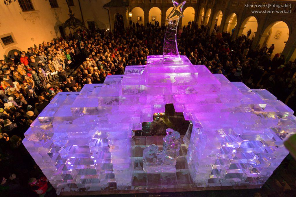 Eiskunstwerk in Österreich