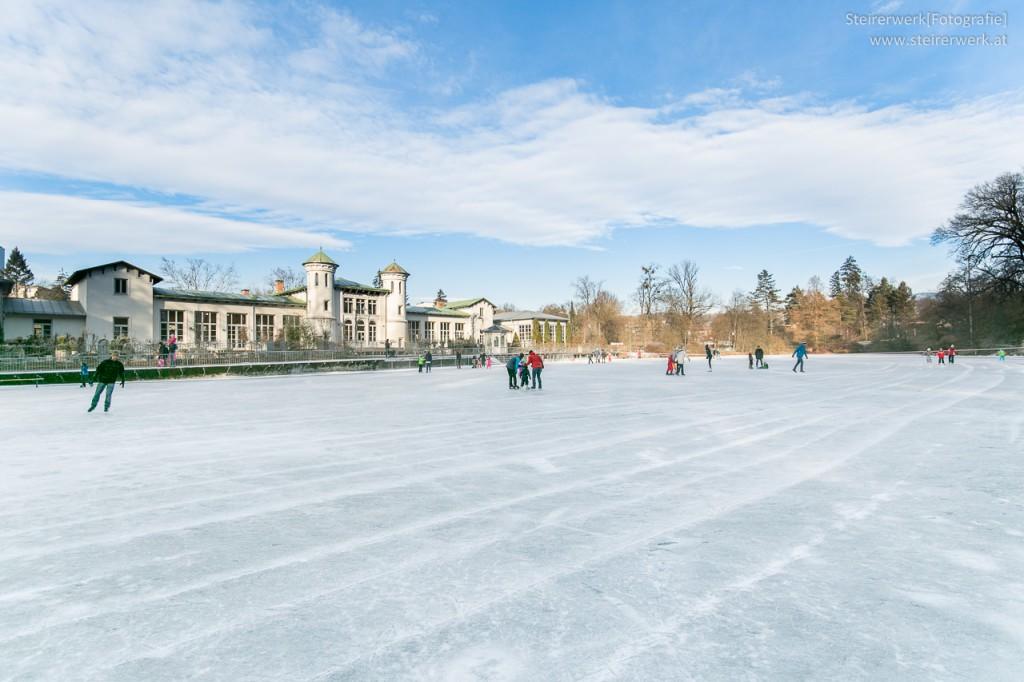 Eislaufen Hilmteich
