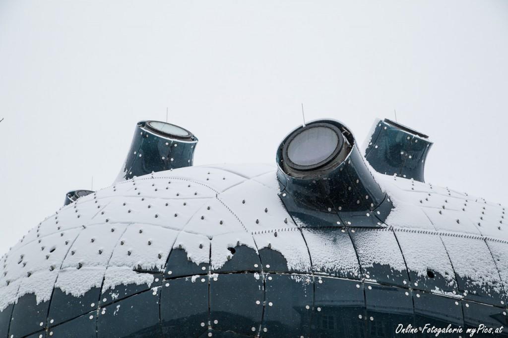 Kunsthaus im Winter