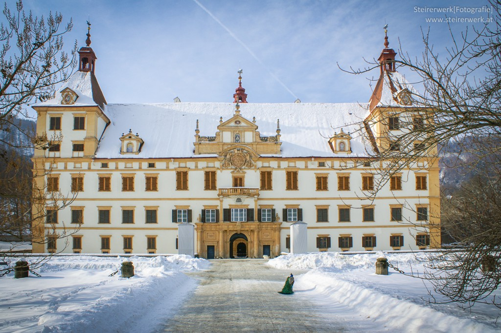 Schloss Eggenberg Winter