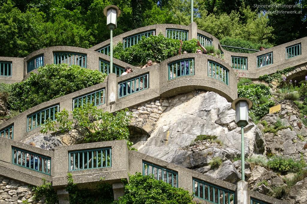 Schlossberg Stiegen Weg
