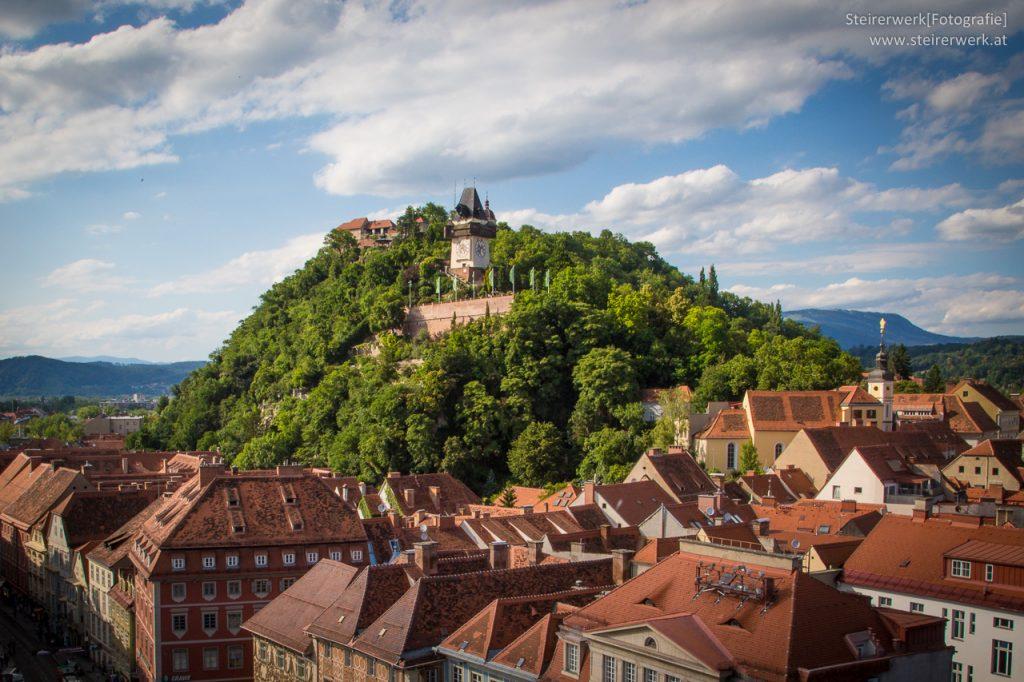 Schloßberg Uhrturm Graz
