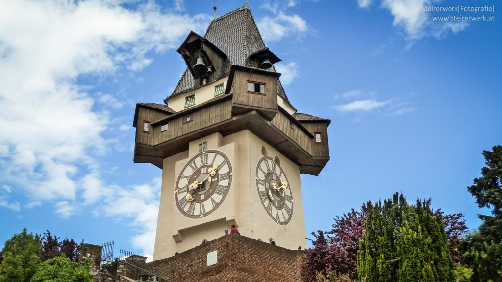 Uhrturm Gaz Wahrzeichen