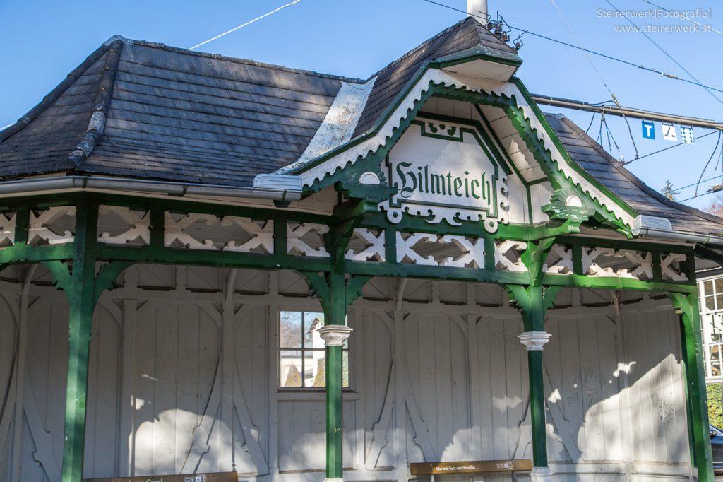 Haltestelle Straßenbahn Hilmteich
