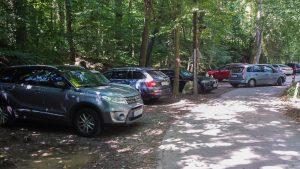 Parken Autos Rettenbachklamm