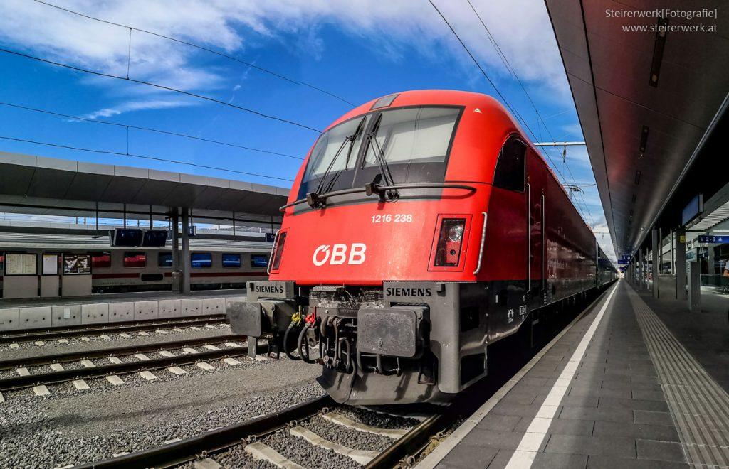 Graz Zug Bahnhof