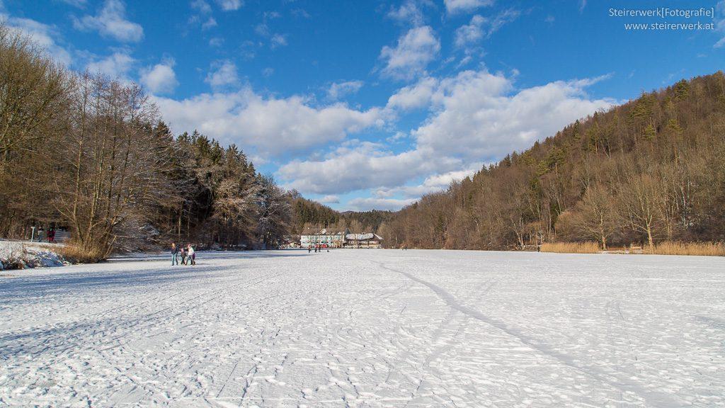 Eislaufen am Thalersee