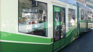 Barrierefreier Einstieg Straßenbahn