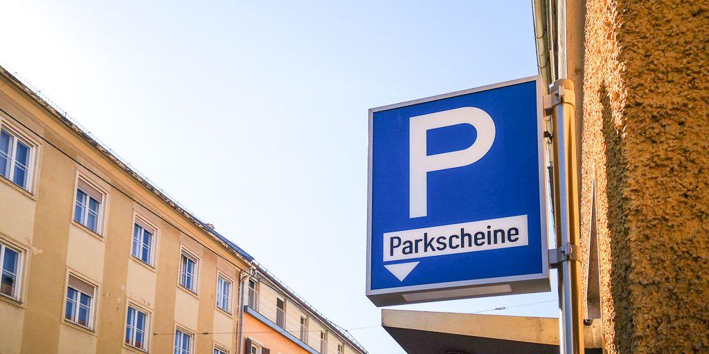 Blaue Kurzparkzone Graz Parkscheine