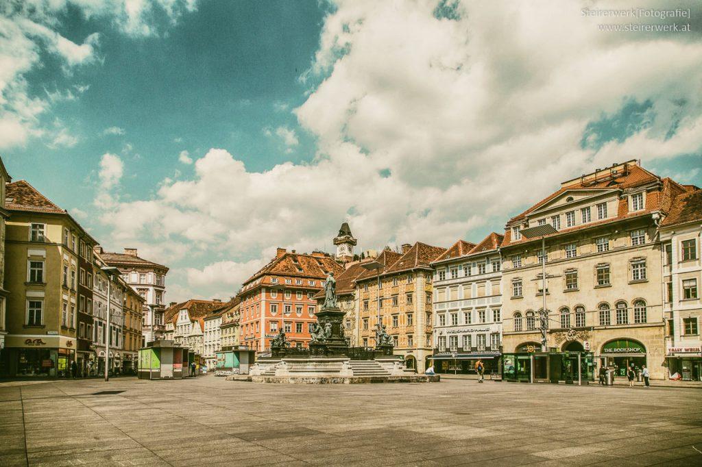 Graz in der Coronakrise