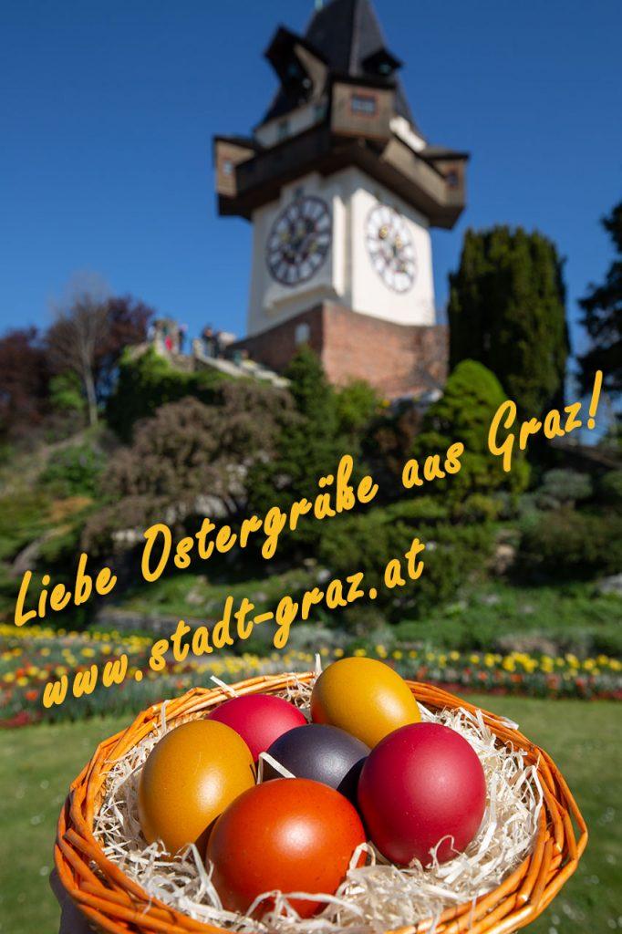Ostergrüße aus Graz