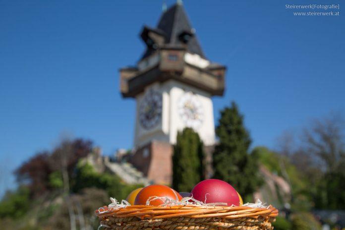 Osternest Uhrturm