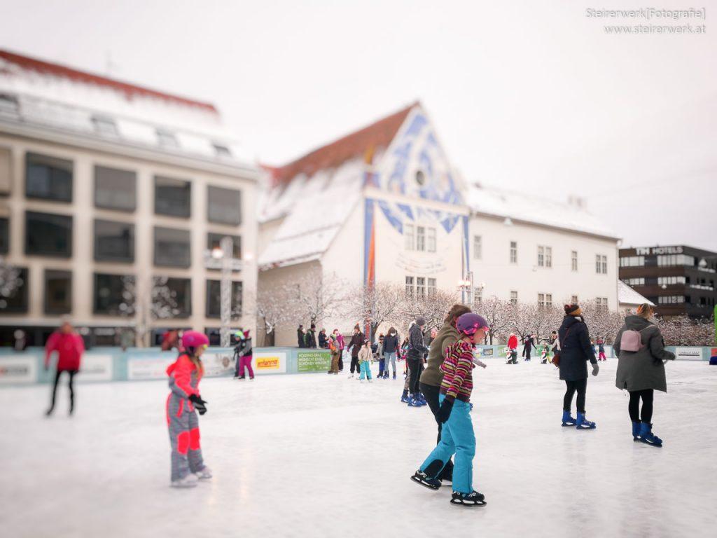 Eislaufen Winterwelt Graz