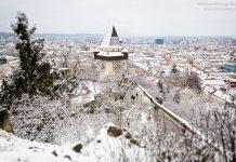 Graz im Winter Schnee Tipps