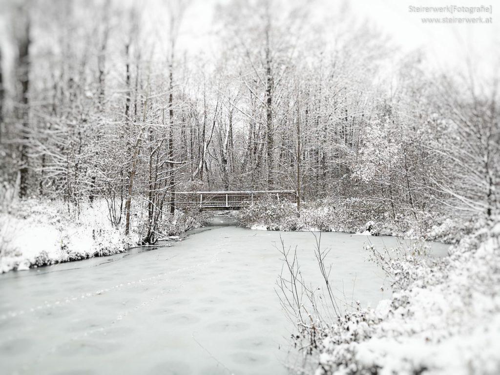 Winterspaziergang Mur