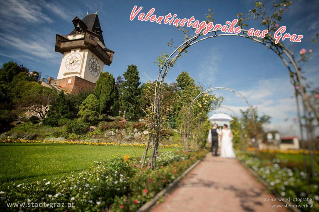Valentinstaggrüße aus Graz